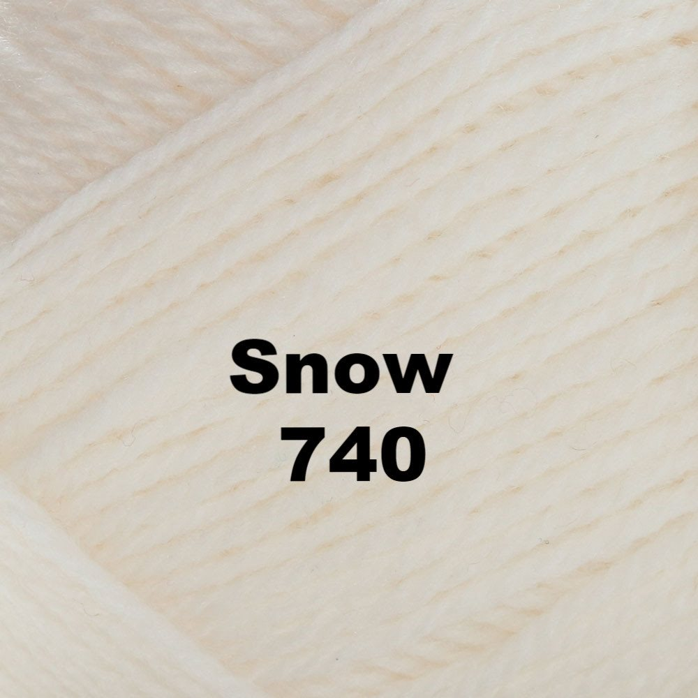 Brown Sheep Nature Spun Worsted Yarn Snow 740 - 47