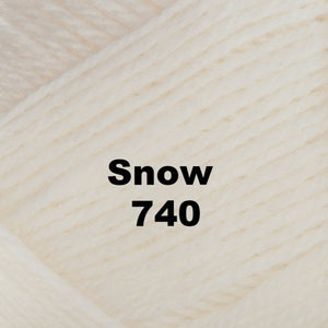 Brown Sheep Nature Spun Worsted Yarn-Yarn-Snow 740-