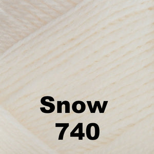 Brown Sheep Nature Spun Cone Sport Yarn Snow 740 - 48
