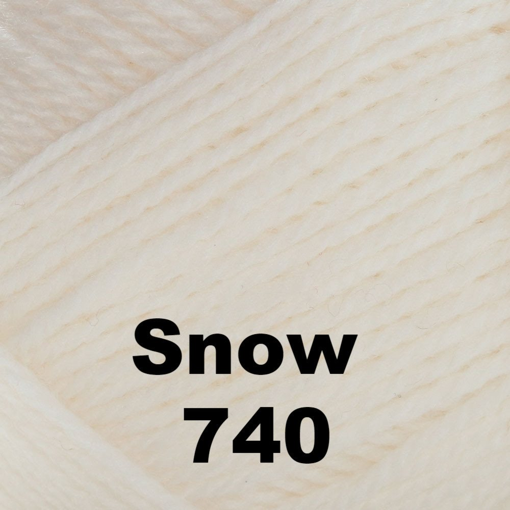 Brown Sheep Nature Spun Fingering Yarn Snow 740 - 48