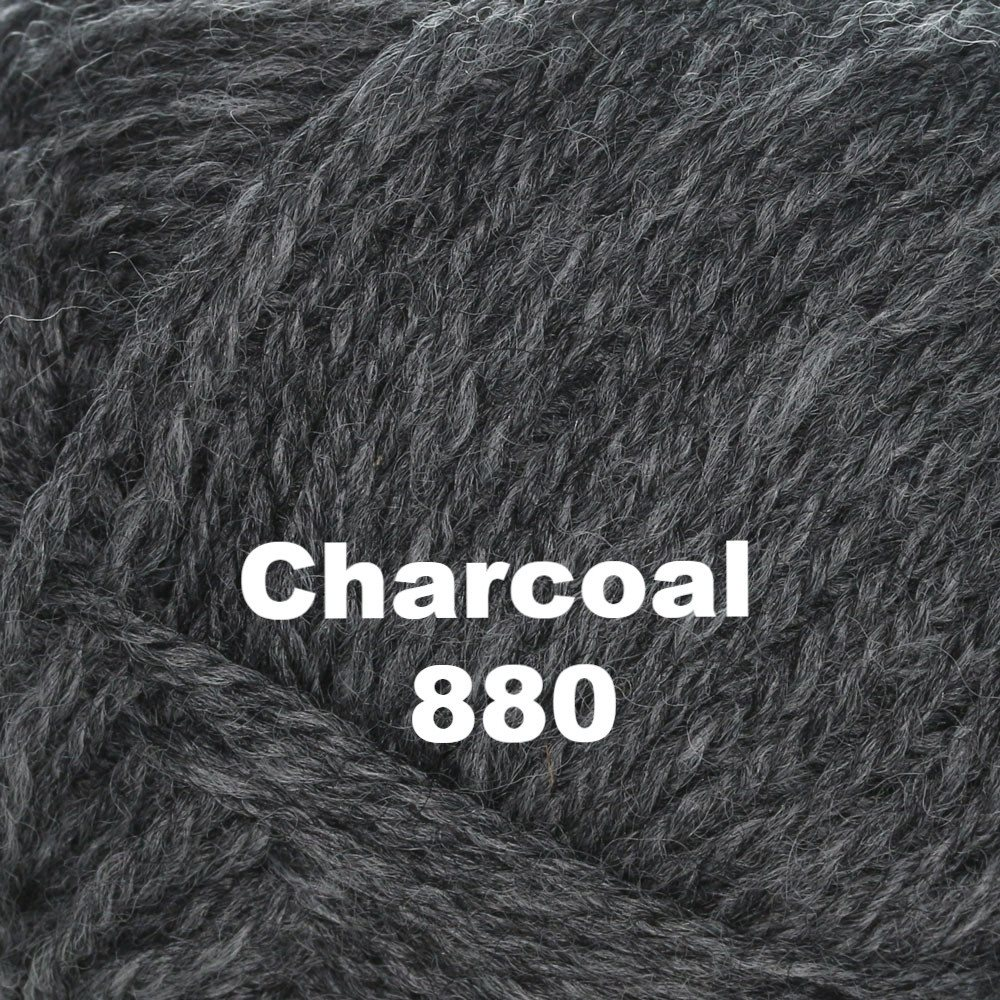 Brown Sheep Nature Spun Worsted Yarn Charcoal 880 - 48