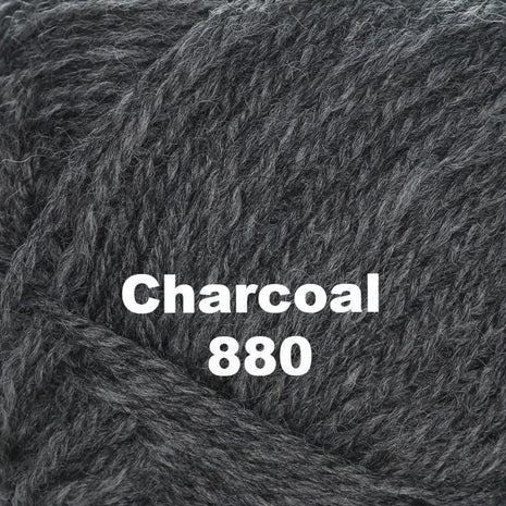 Paradise Fibers Yarn Brown Sheep Nature Spun Worsted Yarn Charcoal 880 - 49