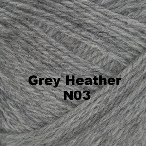 Brown Sheep Nature Spun Worsted Yarn-Yarn-Grey Heather N03-