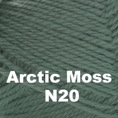 Brown Sheep Nature Spun Cone Sport Yarn Arctic Moss N20 - 52
