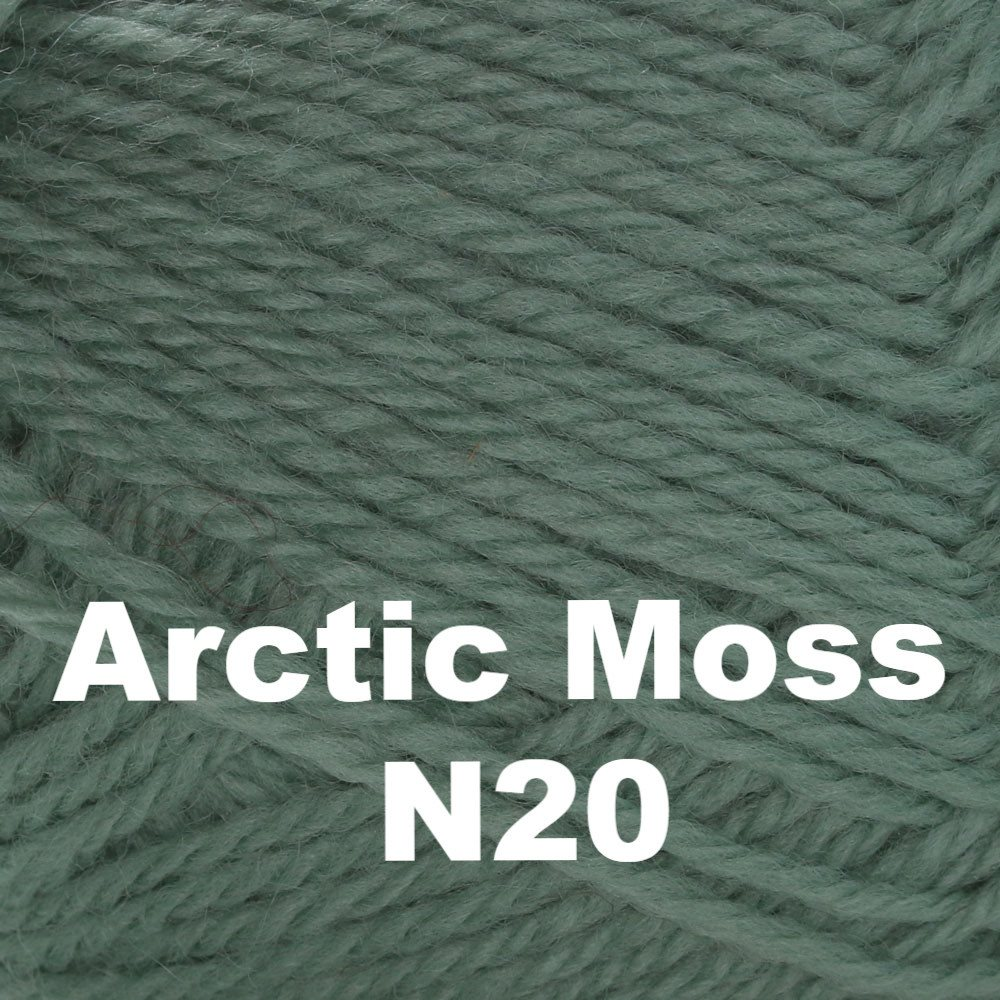Brown Sheep Nature Spun Fingering Yarn Arctic Moss N20 - 52