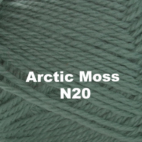 Paradise Fibers Yarn Brown Sheep Nature Spun Worsted Yarn Arctic Moss N20 - 52