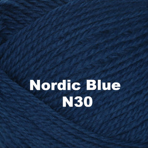 Paradise Fibers Yarn Brown Sheep Nature Spun Worsted Yarn Nordic Blue N30 - 56