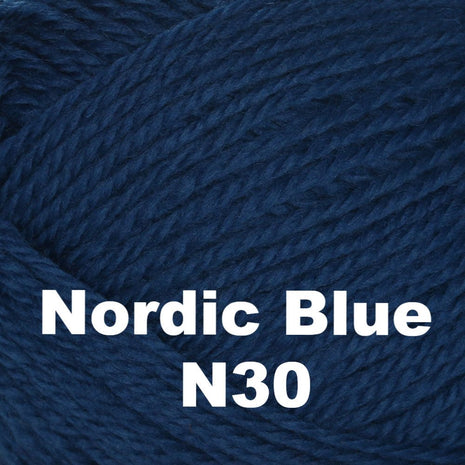 Brown Sheep Nature Spun Cone Fingering Yarn Nordic Blue N30 - 56