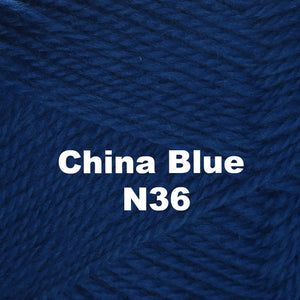 Brown Sheep Nature Spun Worsted Yarn-Yarn-China Blue N36-
