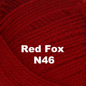 Paradise Fibers Yarn Brown Sheep Nature Spun Worsted Yarn Red Fox N46 - 61
