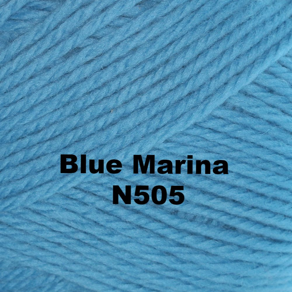 Brown Sheep Nature Spun Worsted Yarn Blue Marina N505 - 62