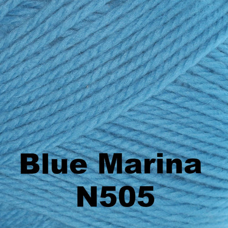 Brown Sheep Nature Spun Fingering Yarn Blue Marina N505 - 63