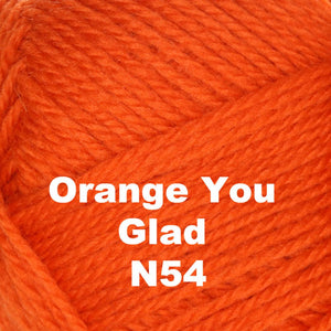 Brown Sheep Nature Spun Fingering Yarn Orange You Glad N54 - 64