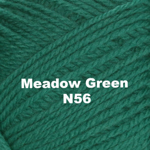 Paradise Fibers Yarn Brown Sheep Nature Spun Worsted Yarn Meadow Green N56 - 65