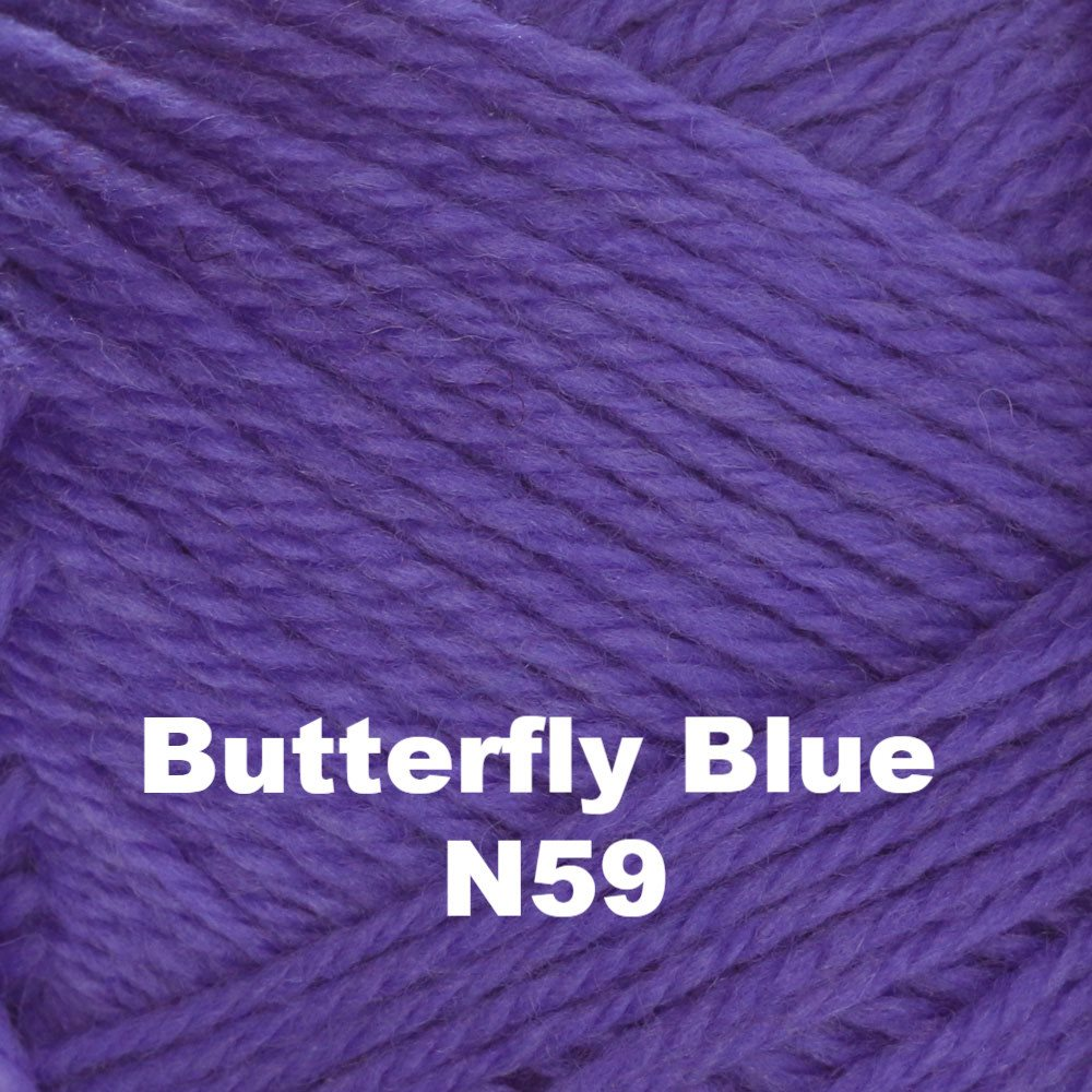 Brown Sheep Nature Spun Fingering Yarn Butterfly Blue N59 - 66