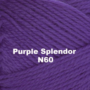 Paradise Fibers Yarn Brown Sheep Nature Spun Worsted Yarn Purple Splendor N60 - 67