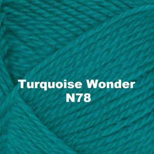 Paradise Fibers Yarn Brown Sheep Nature Spun Worsted Yarn Turquoise Wonder N78 - 70