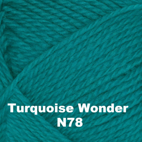 Brown Sheep Nature Spun Fingering Yarn Turquoise Wonder N78 - 70
