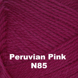 Brown Sheep Nature Spun Cone Fingering Yarn Peruvian Pink N85 - 71