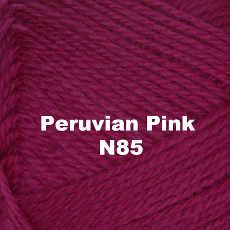 Paradise Fibers Yarn Brown Sheep Nature Spun Worsted Yarn Peruvian Pink N85 - 71