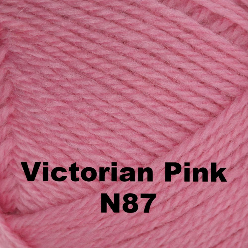 Brown Sheep Nature Spun Fingering Yarn Victorian Pink N87 - 72