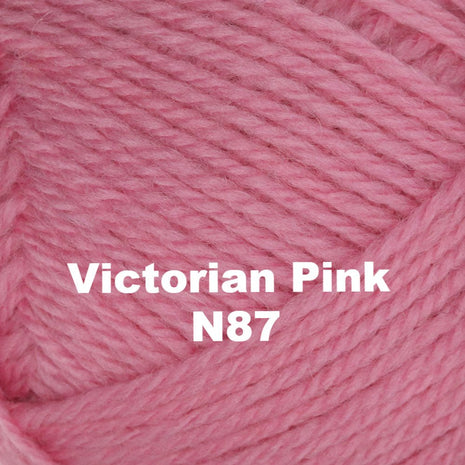 Paradise Fibers Yarn Brown Sheep Nature Spun Worsted Yarn Victorian Pink N87 - 72