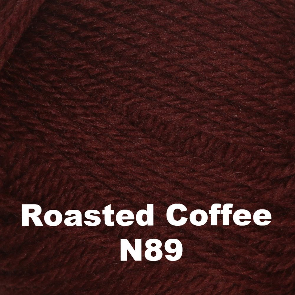 Brown Sheep Nature Spun Fingering Yarn Roasted Coffee N89 - 73