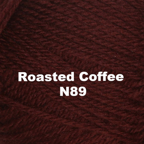Paradise Fibers Yarn Brown Sheep Nature Spun Worsted Yarn Roasted Coffee N89 - 73