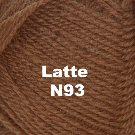 Paradise Fibers Yarn Brown Sheep Nature Spun Worsted Yarn Latte N93 - 78