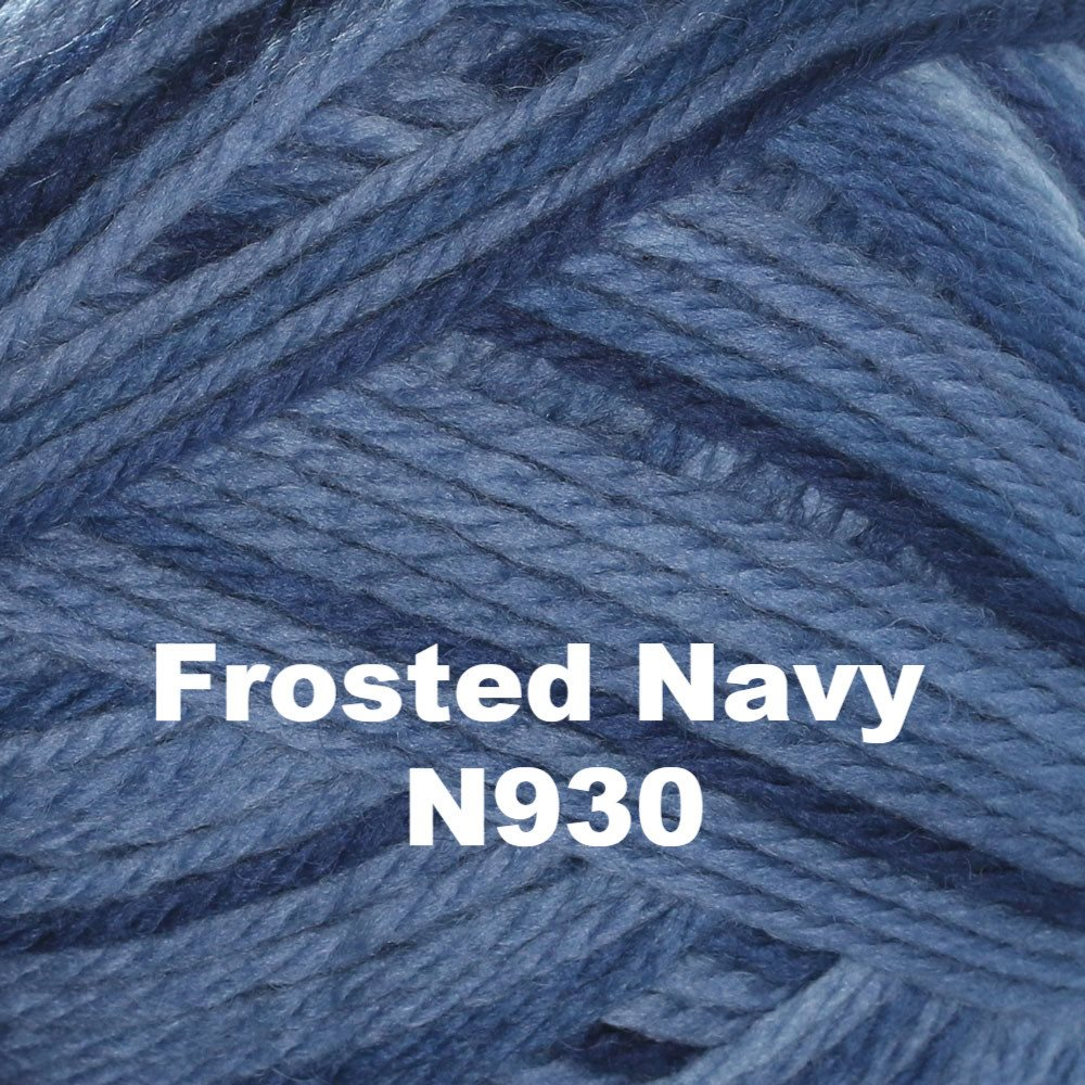 Brown Sheep Nature Spun Sport Yarn Frosted Navy N930 - 79