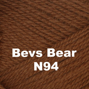 Brown Sheep Nature Spun Cone Fingering Yarn Bevs Bear N94 - 80