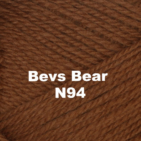 Paradise Fibers Yarn Brown Sheep Nature Spun Worsted Yarn Bevs Bear N94 - 80