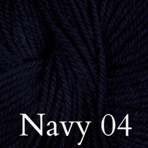 Ella Rae Cozy Soft Solids Yarn Navy 04 - 4
