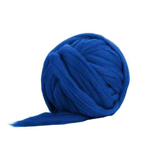 Soft Dyed (Fusion) Merino Jumbo Yarn - 7lb Special for Arm Knitted Blankets-Fiber-