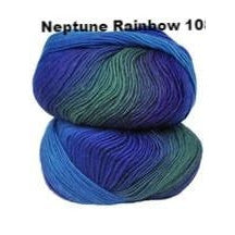 Crystal Palace Mini Mochi Yarn Neptune Rainbow 108 - 27