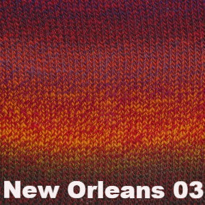 Debbie Bliss Rialto Luxury Sock Yarn New Orleans 03 - 11
