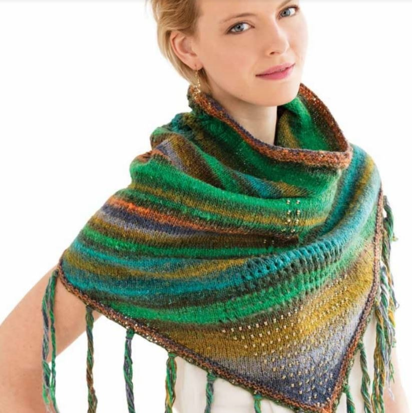 Noro Bandanna Cowl Kit- With Downloadable Pattern  - 1