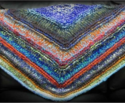 Paradise Fibers Kits Noro Rainbow Roll Shawl Kit  - 1