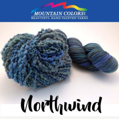 Mountain Colors Twizzlefoot Yarn Northwind - 58
