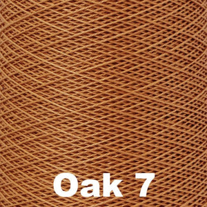 3/2 Mercerized Perle Cotton-Weaving Cones-Oak 7-