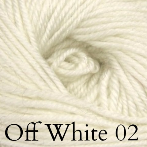 Ella Rae Cozy Soft Solids Yarn Off White 02 - 2