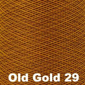 3/2 Mercerized Perle Cotton-Weaving Cones-Old Gold 29-
