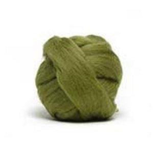 Louet Dyed Corriedale Top (1/2 lb bags) Olive Green - 13