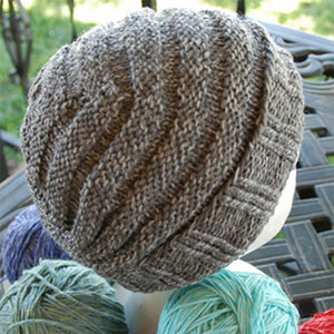 One Skein Hat for Him Kit in Cotton Fleece-Kits-Paradise Fibers