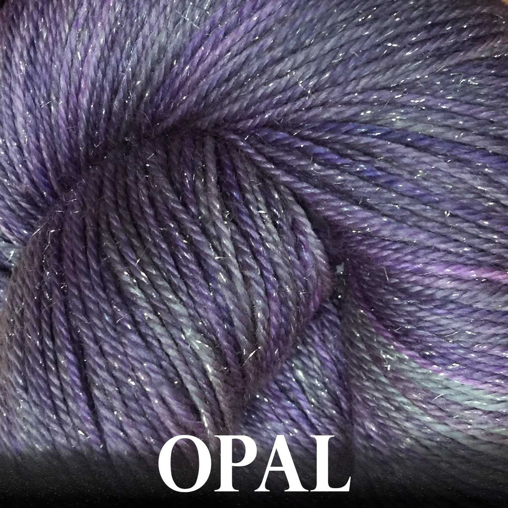 Paradise Fibers Yarn Anzula Luxury Nebula Yarn Opal - 4