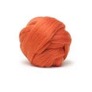 Louet Dyed Corriedale Top (1/2 lb bags) Orange - 21