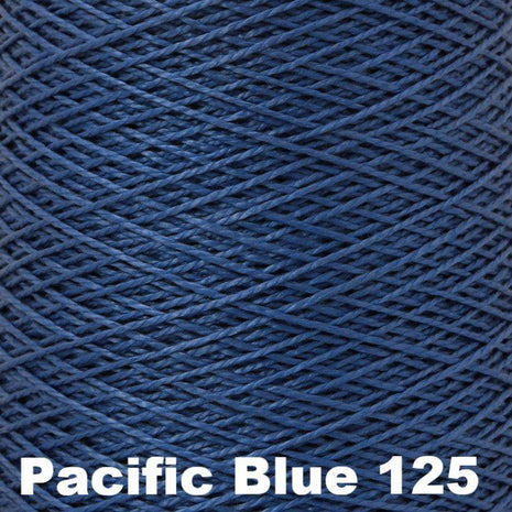 10/2 Perle Cotton 1lb Cones Pacific Blue 125 - 17