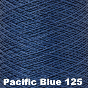 3/2 Mercerized Perle Cotton-Weaving Cones-Pacific Blue 125-