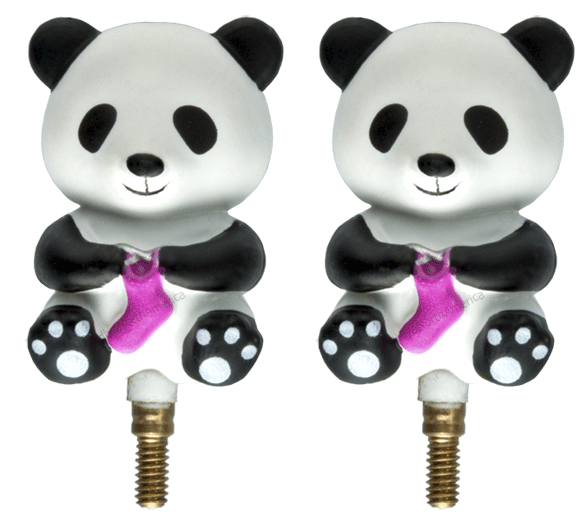 HiyaHiya Panda Stopper for Interchangeable Cables  - 1