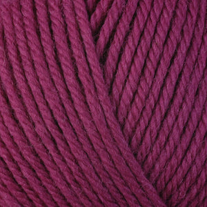 Cherry 3347, a pink skein of washable worsted weight Ultra Wool yarn.